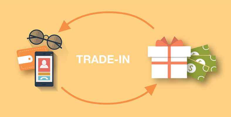Promote a Trade-in and give Cash
